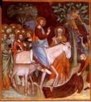 Entrada em Jerusalém Duccio di Buoninegma