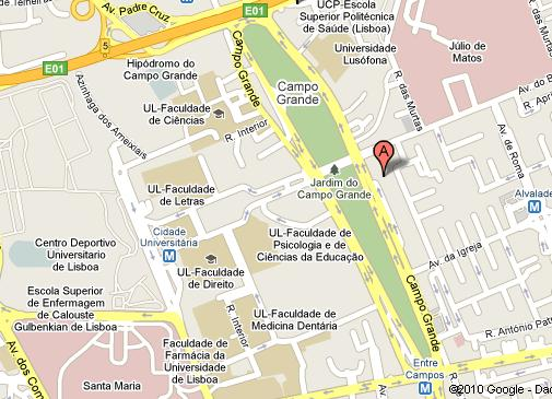 avenida da igreja lisboa mapa CONTACTOS | Arquivo avenida da igreja lisboa mapa